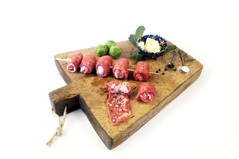Bombette classiche Pugliesi, fagottini di carne