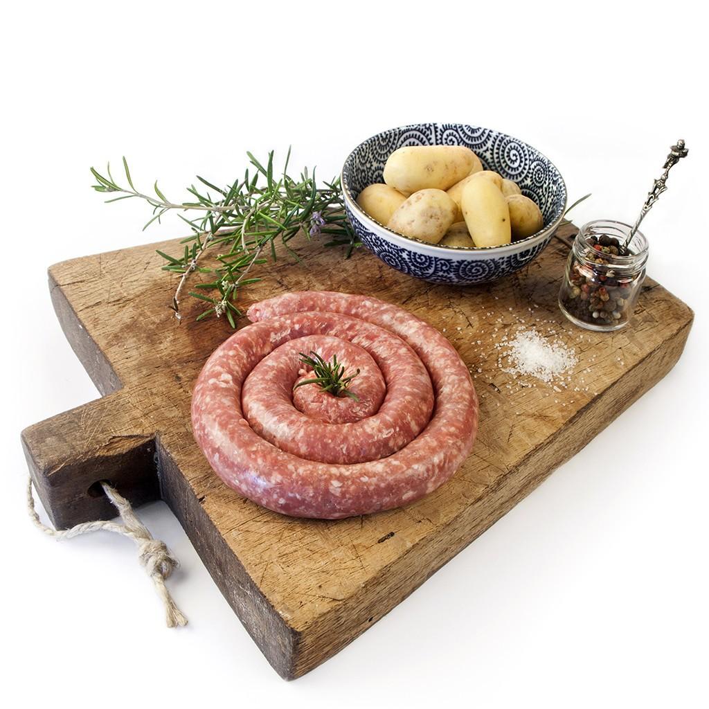 Salsiccia fresca pugliese produzione Martina Franca