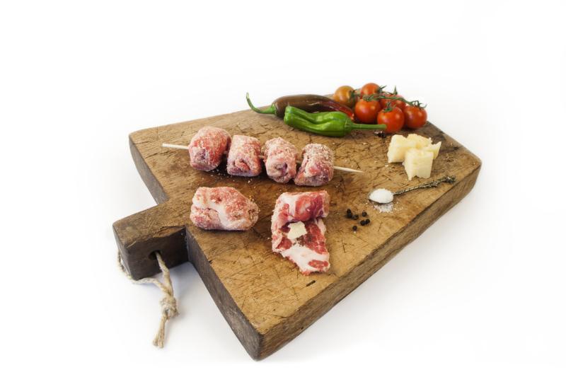 Bombette impanate. Fagottini di carne